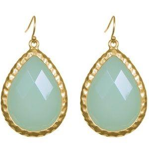 Towne & Reese Brooke Earrings in Mint